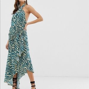 ASOS zebra print dress. Size 2.